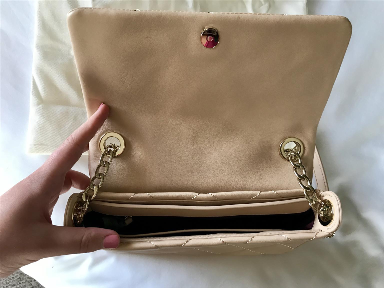 Kate Spade Nude Quilted Handbag Junk Mail