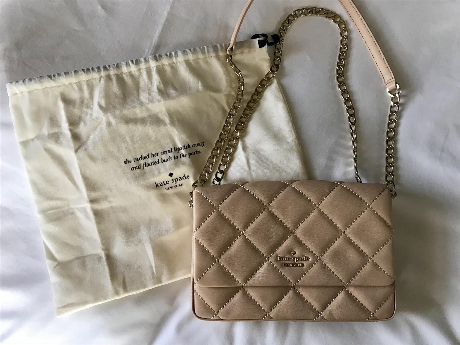 Kate Spade Nude Quilted Handbag
