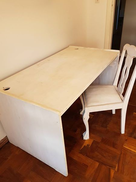 White desk and chair for sale