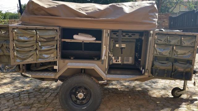 Metalian Maxi 4x4 trailer for rent