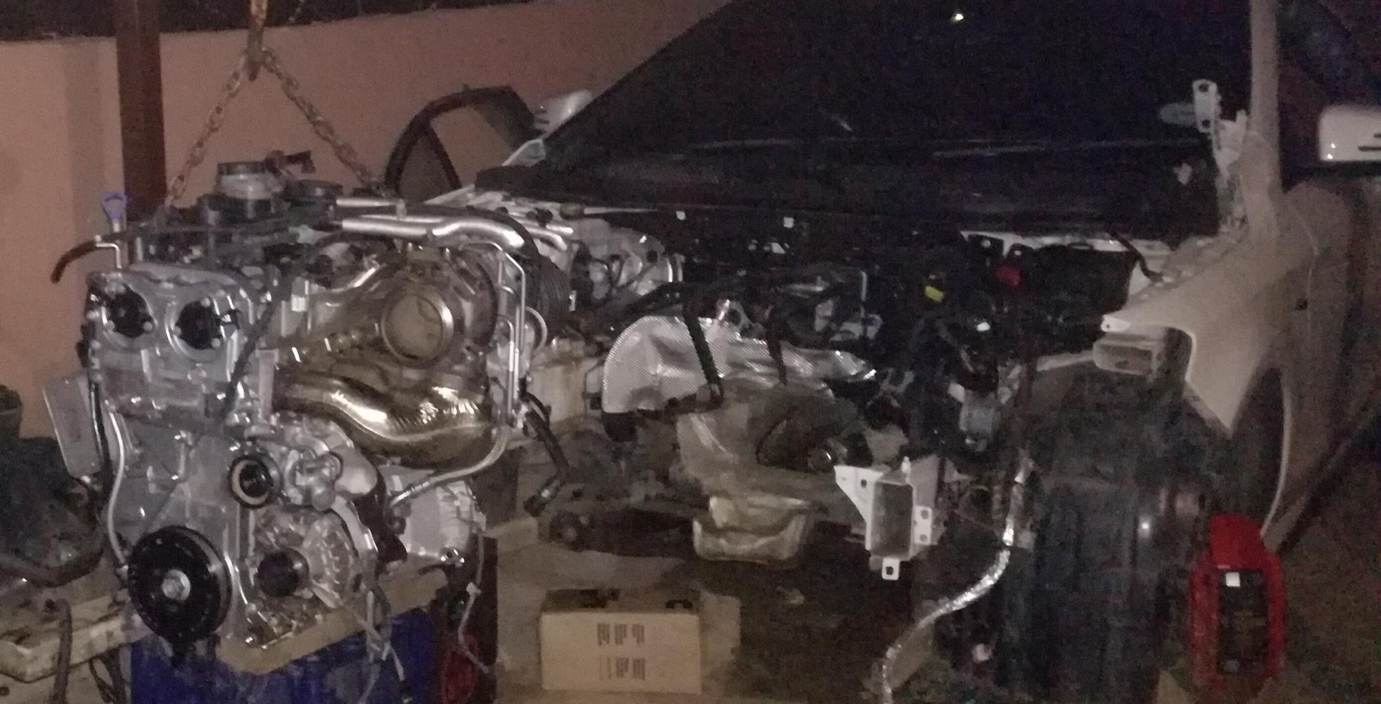 Mercedes Benz A45 spares engine and gearbox spares