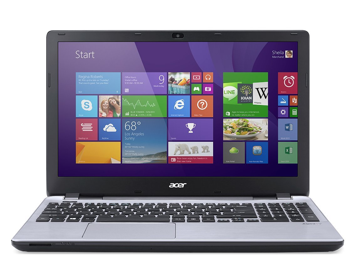 "Acer Aspire V3-572G-15.6"" led- Intel Core i7 -5500U Dual-core (2 Core) 2.40 GHz - 8 GB DDR3L SDRAM - 1 TB HDD"