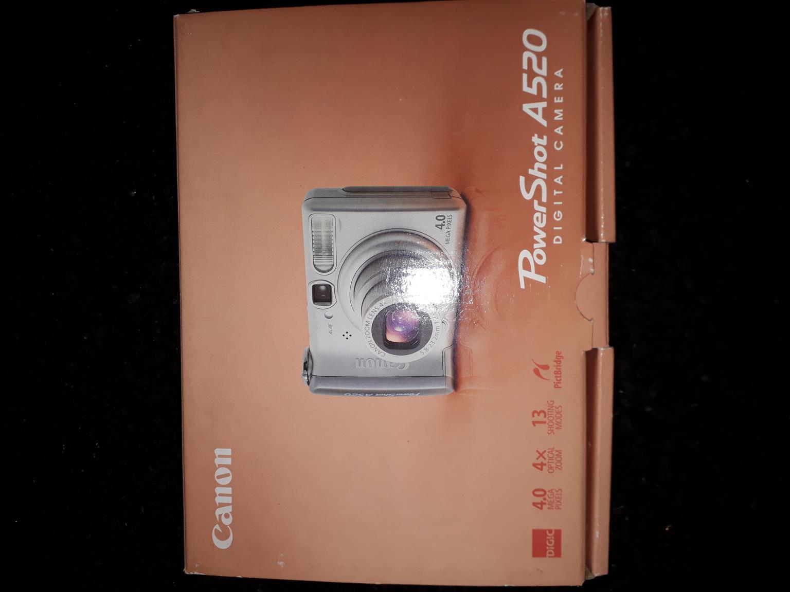 Cannon A520 powershot camera