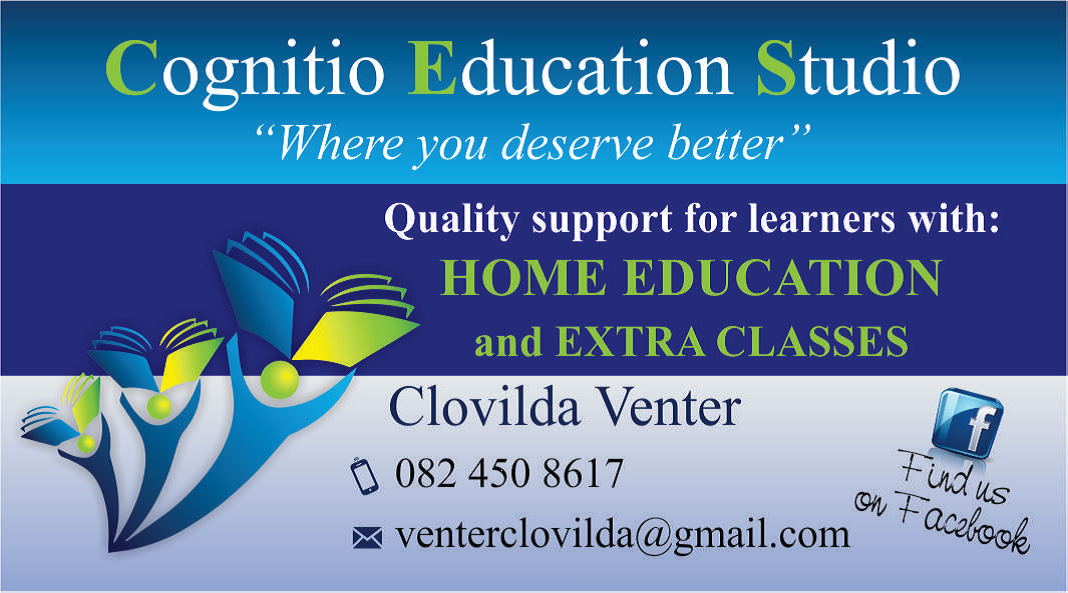 HOME EDUCATION, SPECIALIZED EXTRA CLASSES IN AFRIKAANS HOME LANGUAGE AND FIRST ADDITIONAL LANGUAGE