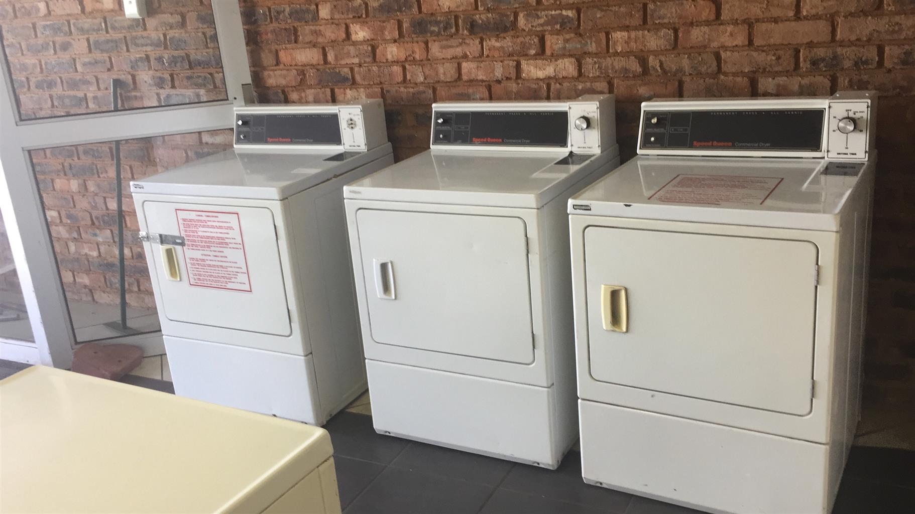 10 Speed Queen Commercial Tumble Dryers
