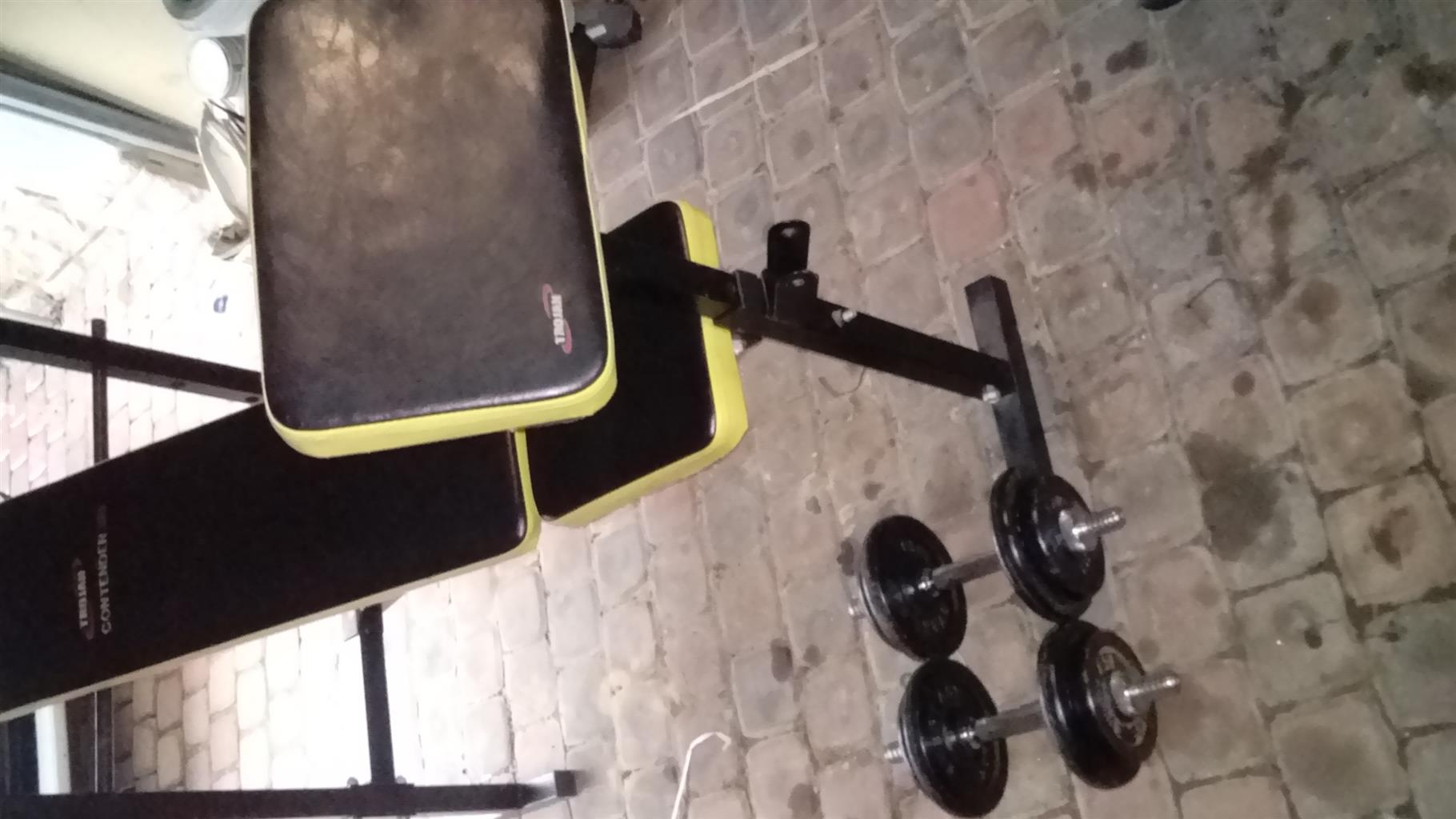 Bench Bars Weights