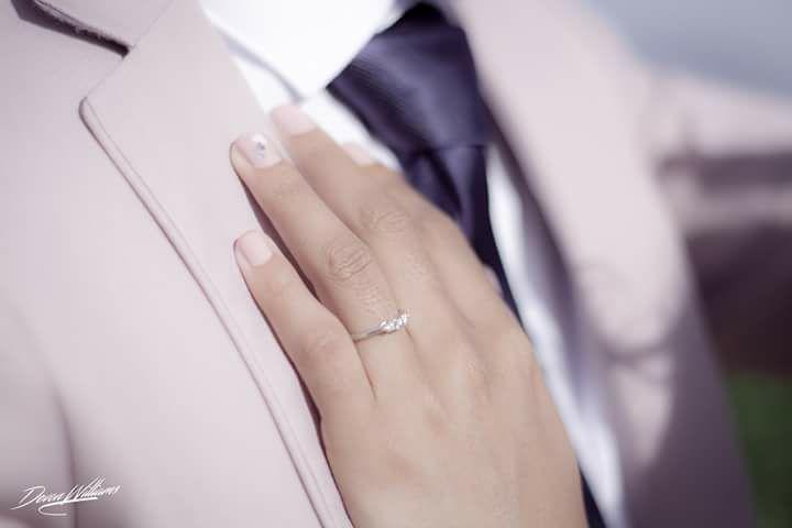 Lost Diamond Wedding Ring