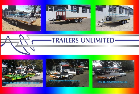 TRAILERS UNLIMITED. FURNITURE TRAILERS FROM R14900