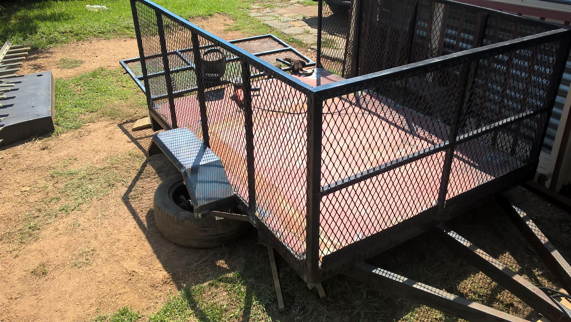Trailer for sale (new no wheels)