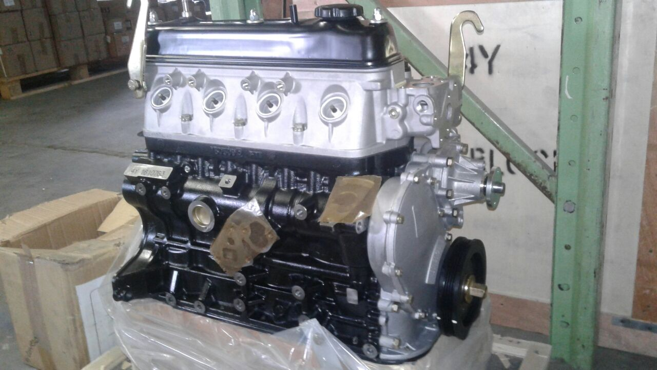 BRAND NEW TOYOTA 4Y ENGINES/SUB UNITS &BLOCKS