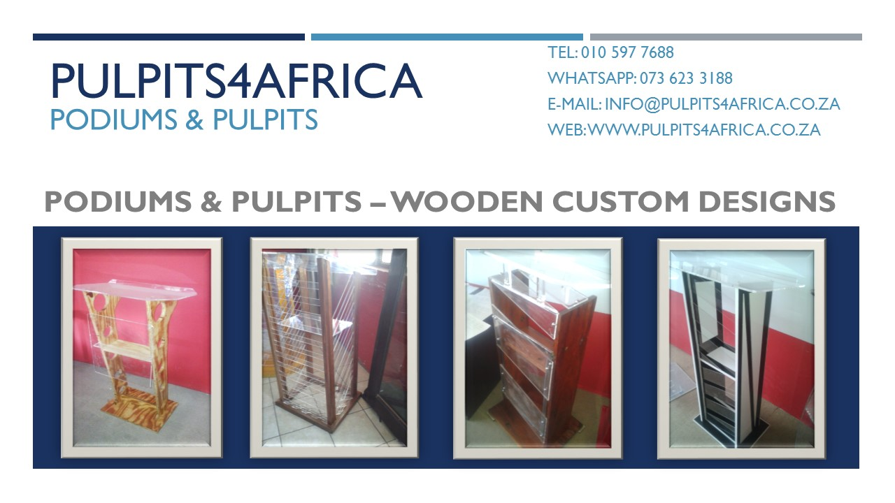 Stand Up Lecterns