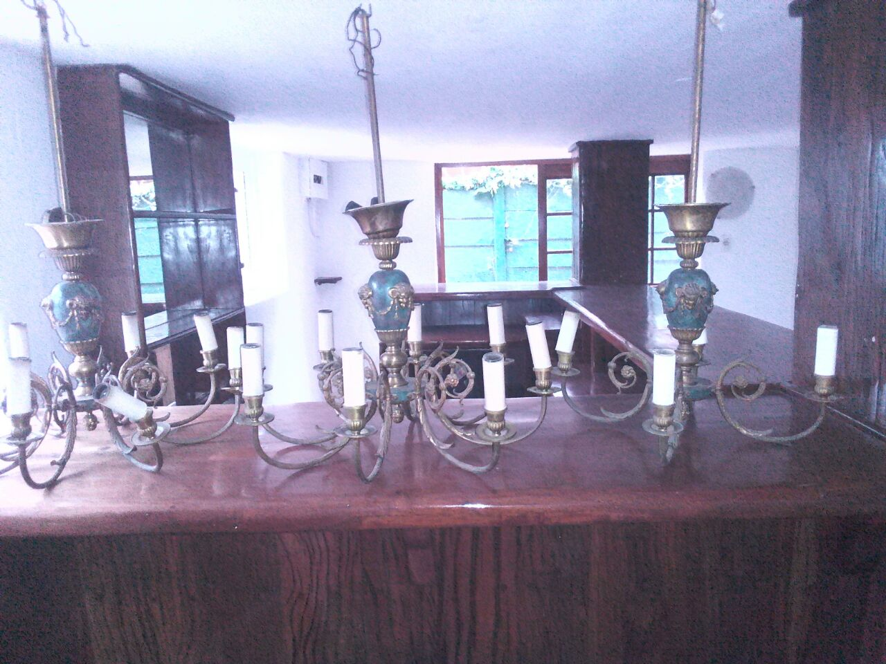 Beautiful Antique chandelier - 5 set