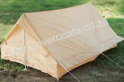 New French Military tent for sale. Water resistant and spacious.