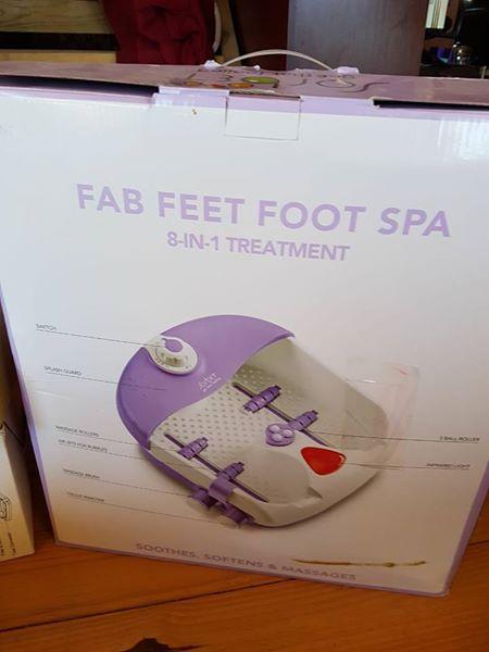 Fab feet foot spa
