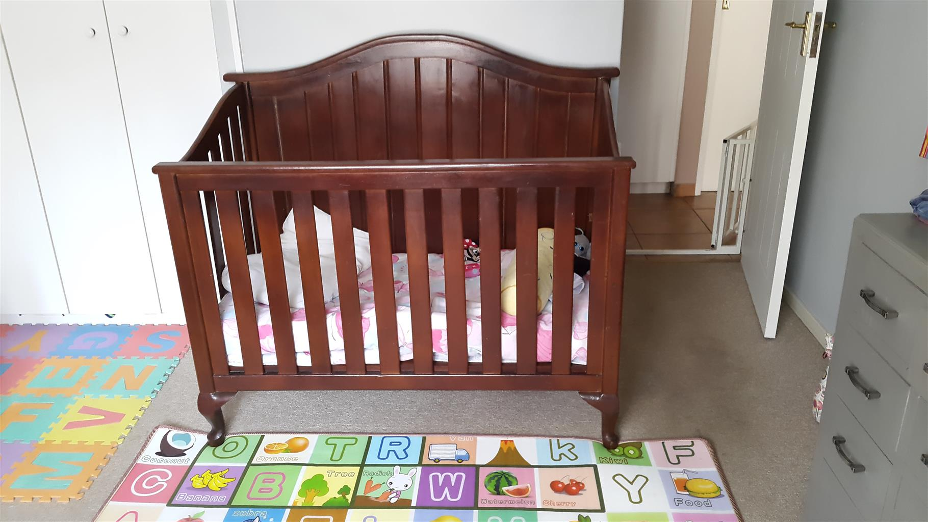Baby Cot / Crib solid wood
