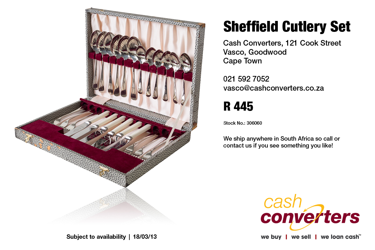 Sheffield Cutlery Set