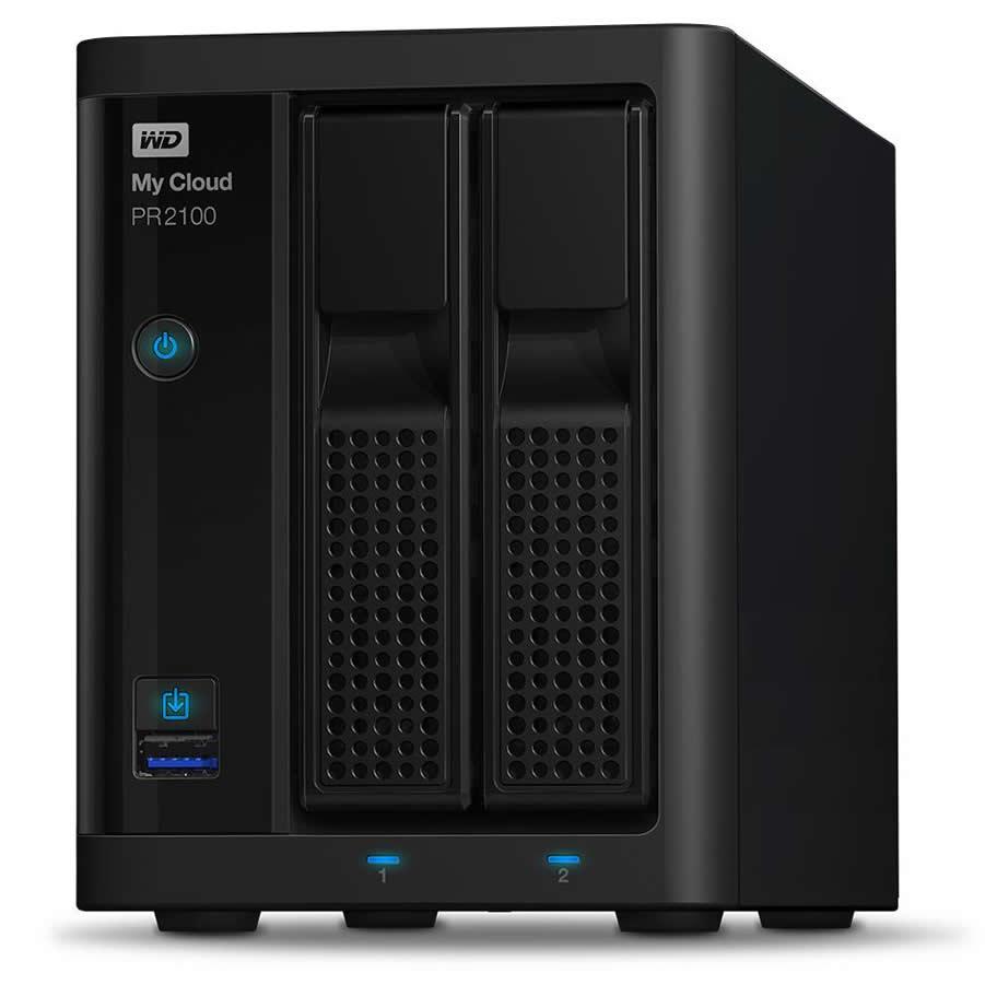 WD PR2100 8TB My Cloud Pro Series Network Attached Storage