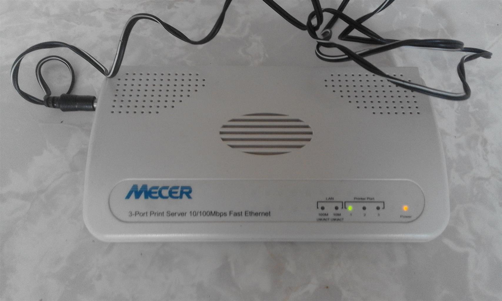 3-Port Print Server Mecer