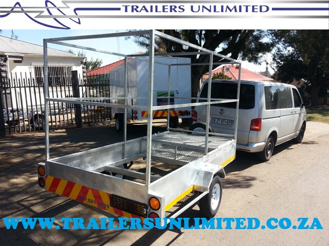 TRAILERS UNLIMITED CUSTOM BUILD DINGY TRAILERS.