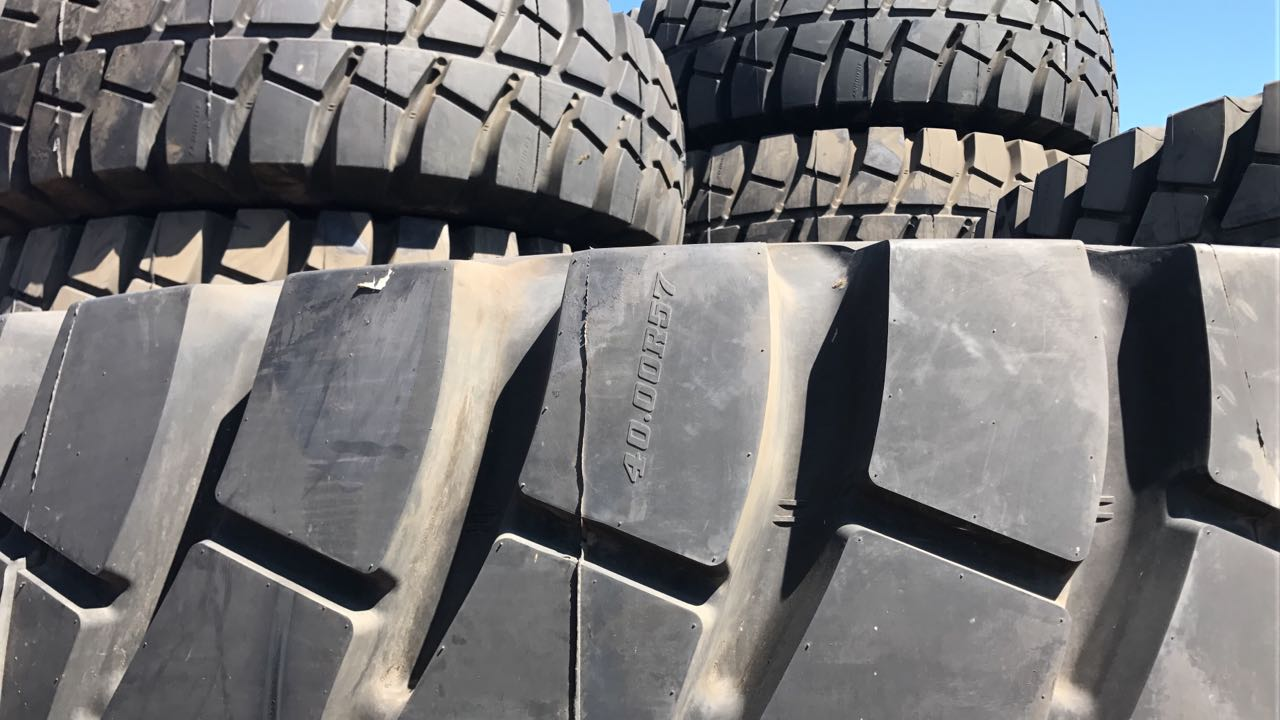 New Torch 40.00 R57 Earthmover / OTR Tyres - 40 X available - R60 000ea