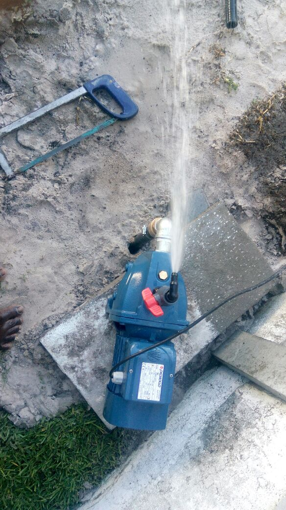Mussah WELL-POINT, BOREHOLE AND IRRIGATION SYSTEM
