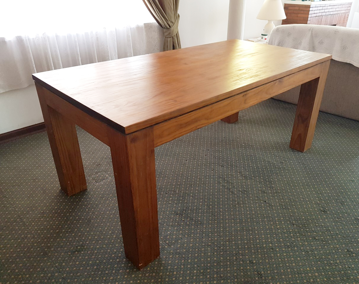 Contemporary Genuine Wooden Table