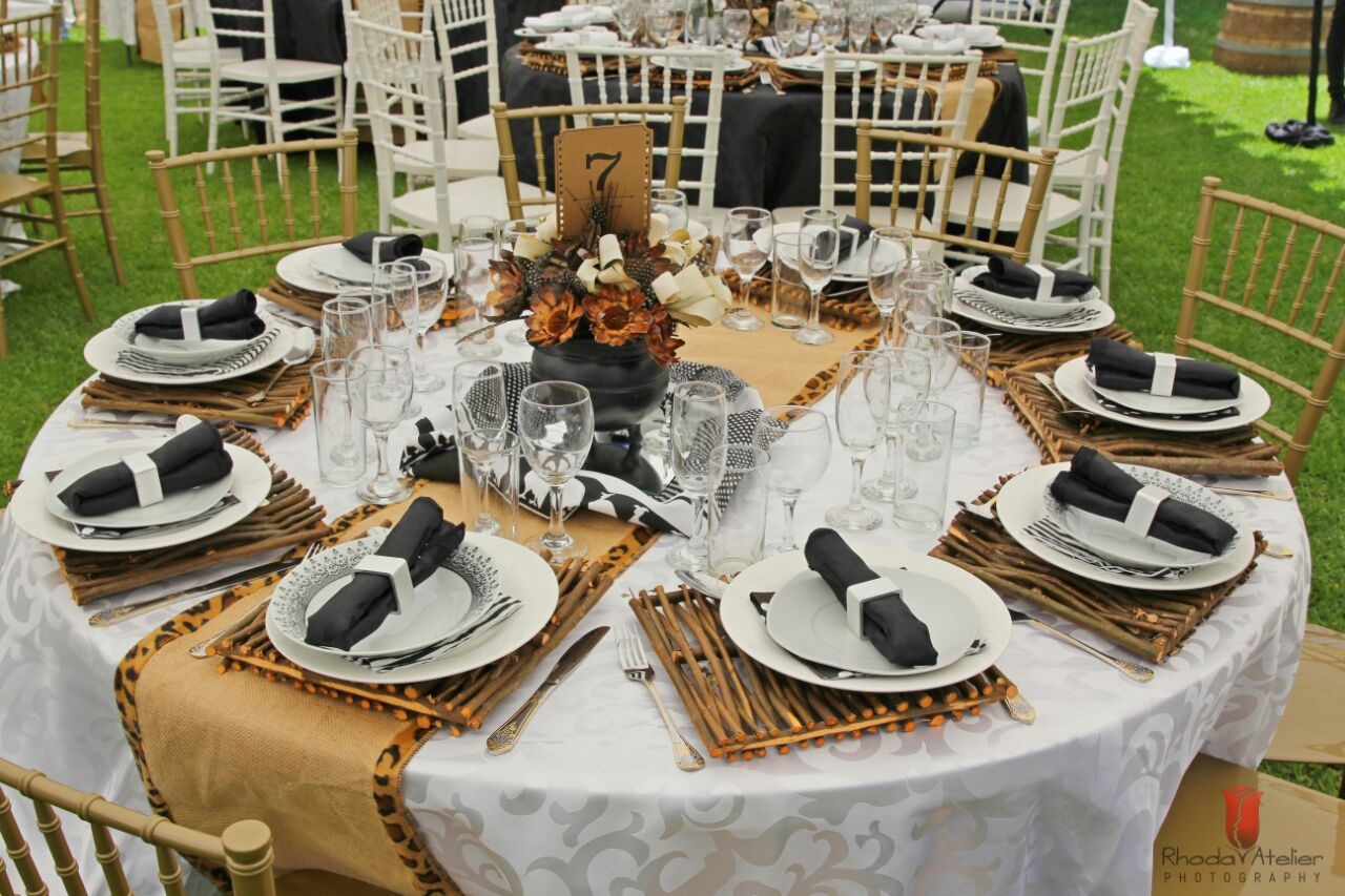 BEST PRICES FOR HIRE of event, party,wedding and function items. WE ARE ALSO EVENT PLANNERS