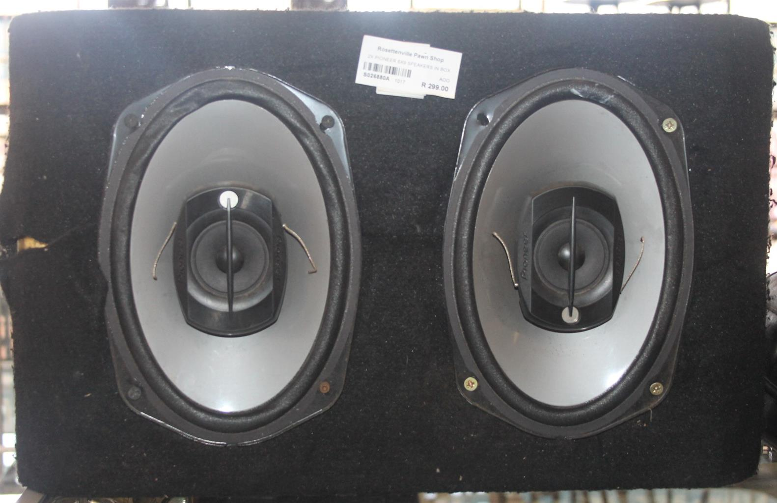 2x Pioneer 6x9 speakers S026880a #Rosettenvillepawnshop