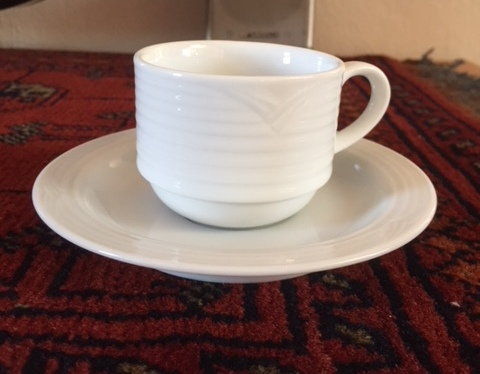 Noritake Expresso Cups & Saucers