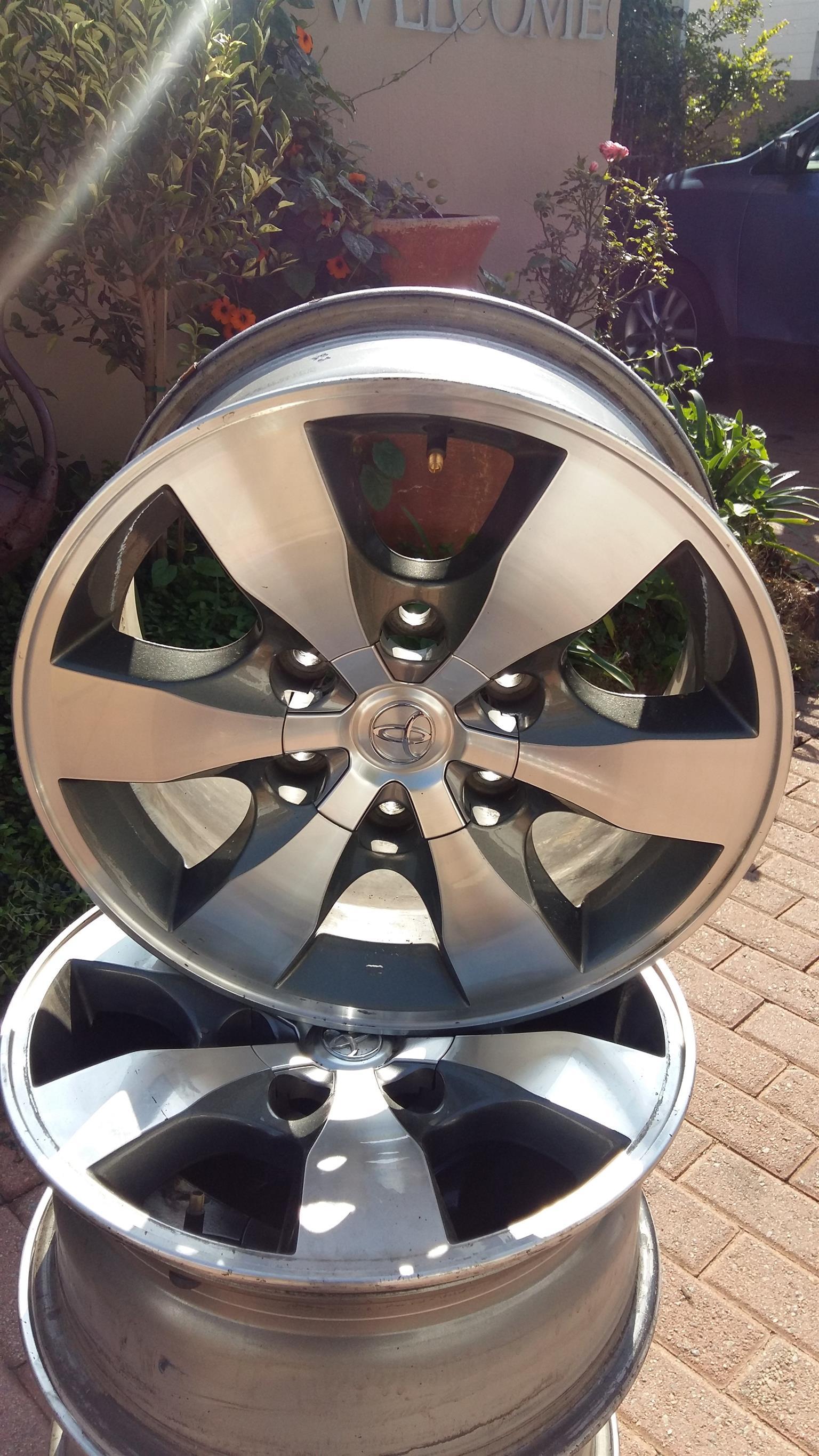 Toyota Prado aluminium Rims,set of 4
