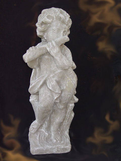 1ST024 Cupe with Flute (small) statue