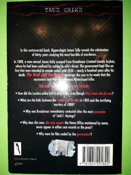 True Crime: The Real Jack The Ripper - The Secret Of Prisoner 1167 - James Tully.