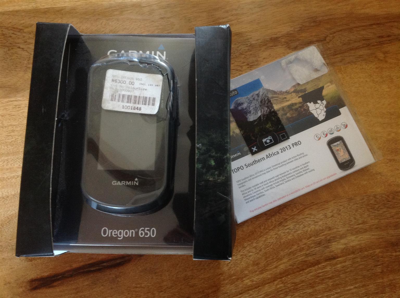 Garmin Oregon 650