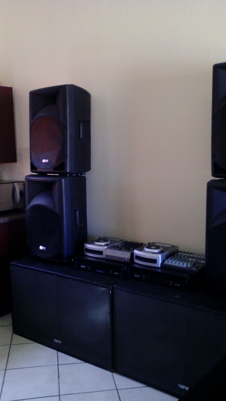 Sound System for hire