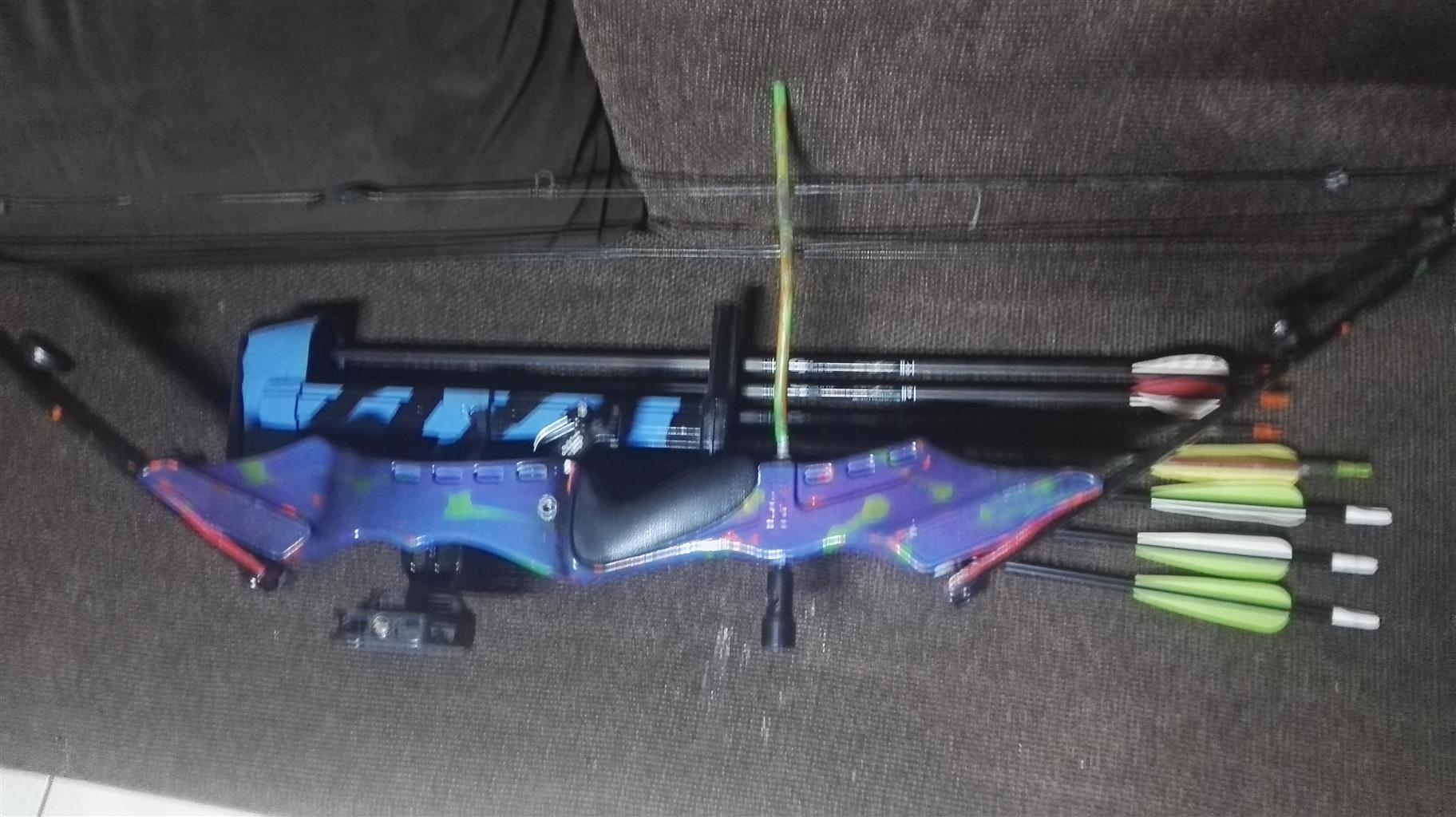 PSE Compound Bow and Arrows