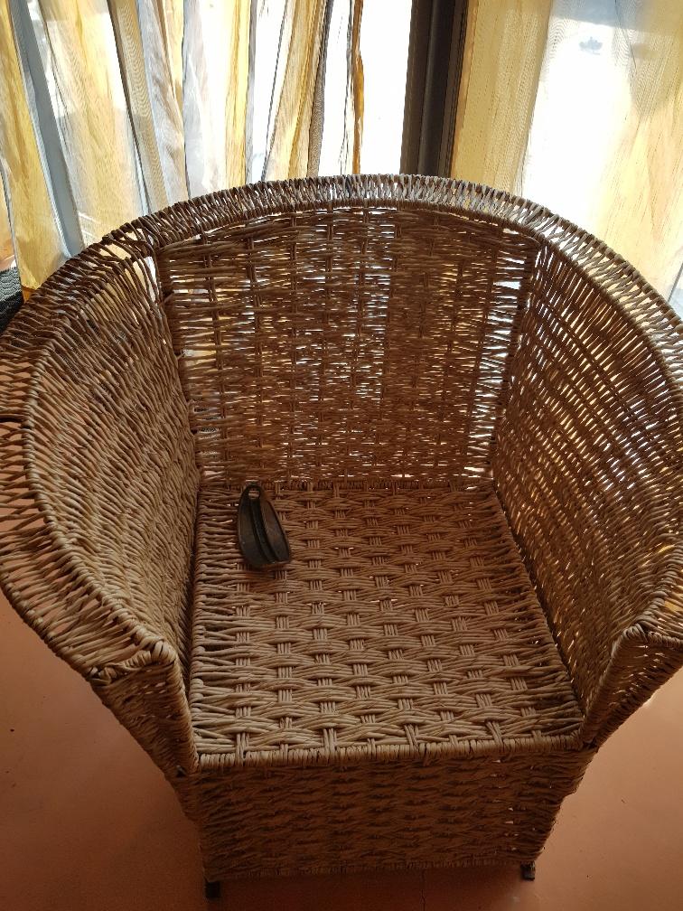 Wicker Lounge Set