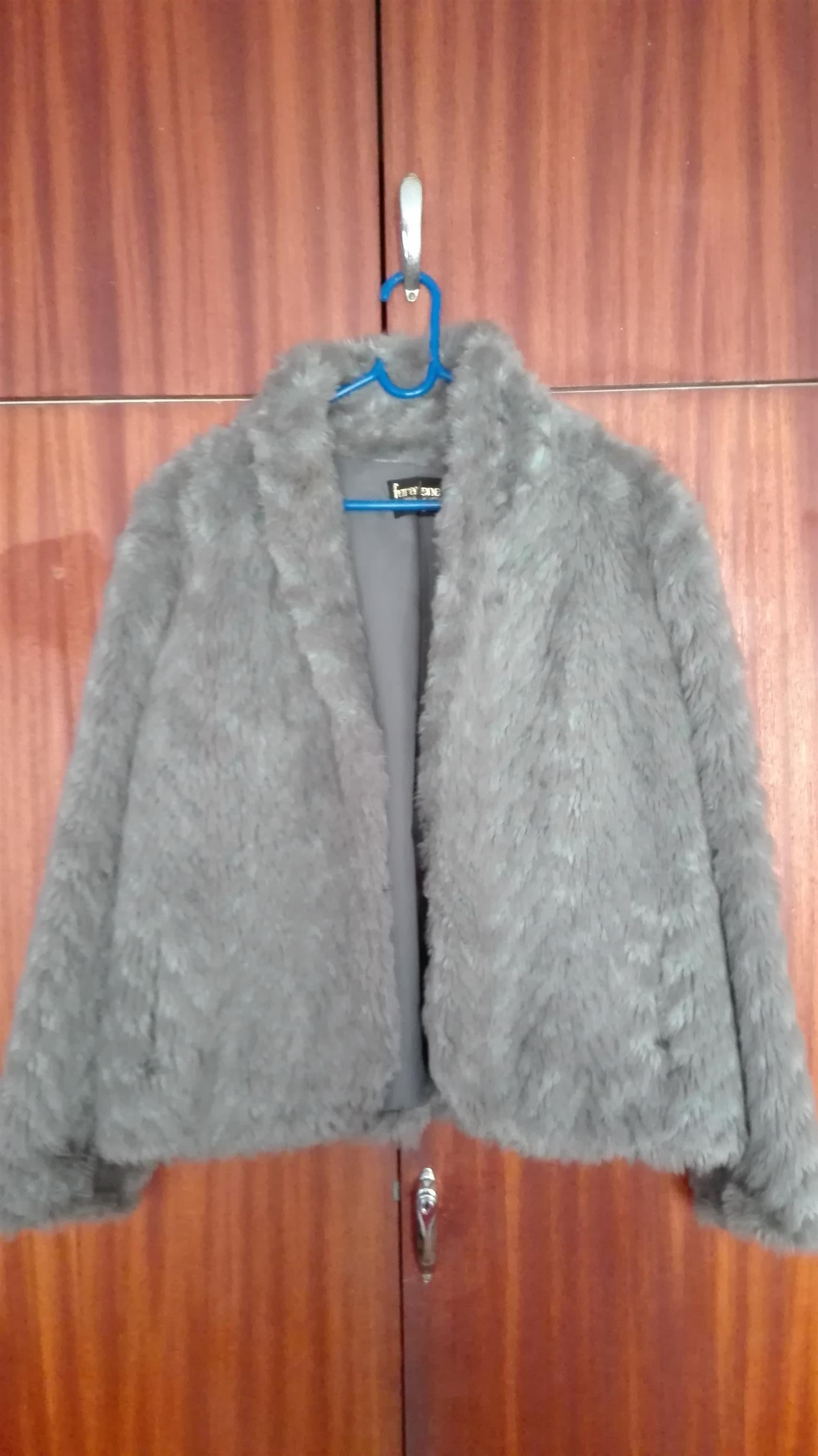 Vintage Furarlene Grey Ladies Coat