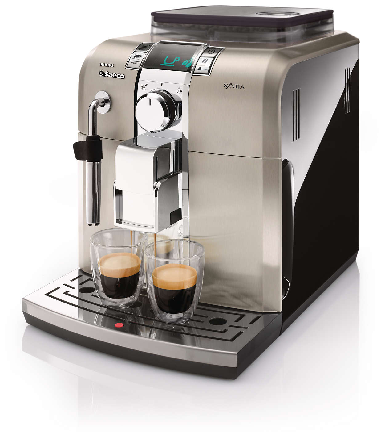 Saeco Synthia Bean to Cup espresso and coffee machine