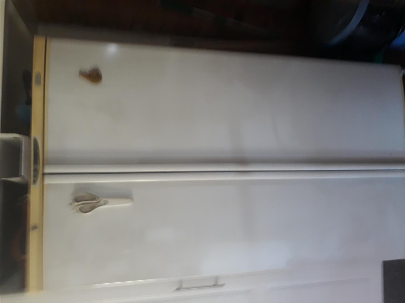 Defy. Side by side fridge/freezer