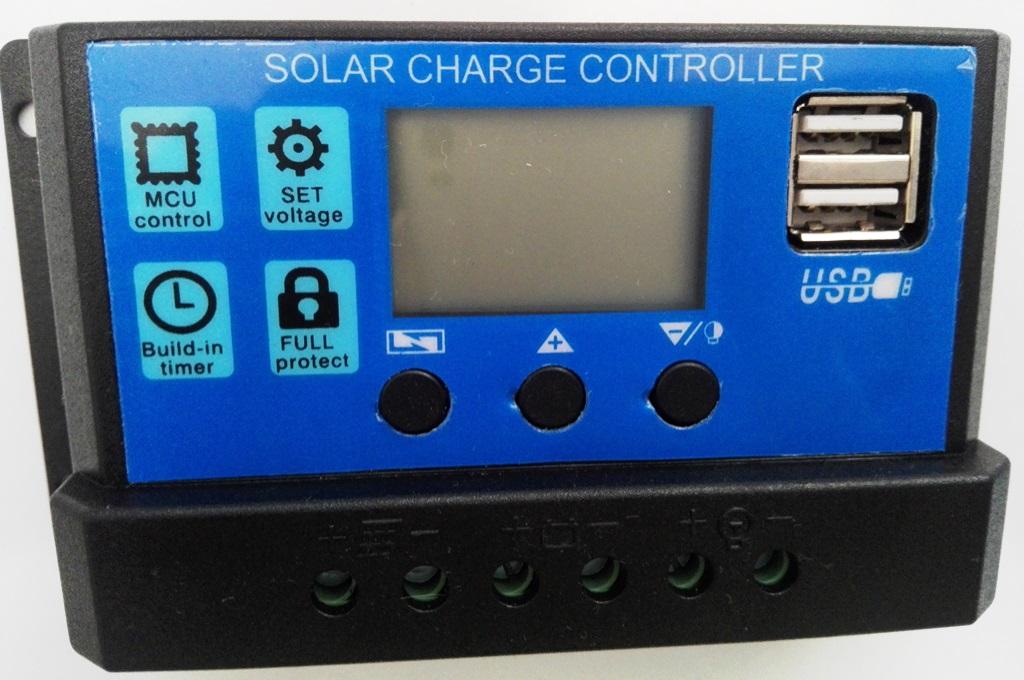 Solar Charge Controller 12V/24V / 30A  (BEST BUY)