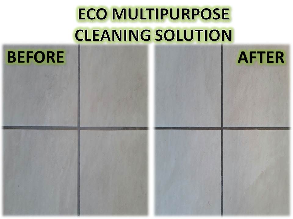 ECO Multipurpose Cleaning Solution HOUSEHOLD, BUSINESS AND INDUSTRIAL USES FLOORS AND CARPETS