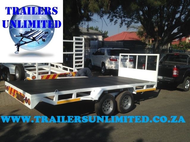 Flat Bed Trailer 3300 x 1575