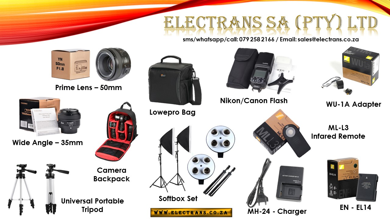 Camera Accessories & Camera Equipment ~ Electrans SA