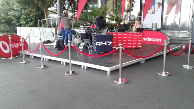 Stanchions, beanbags and red carpets for hire