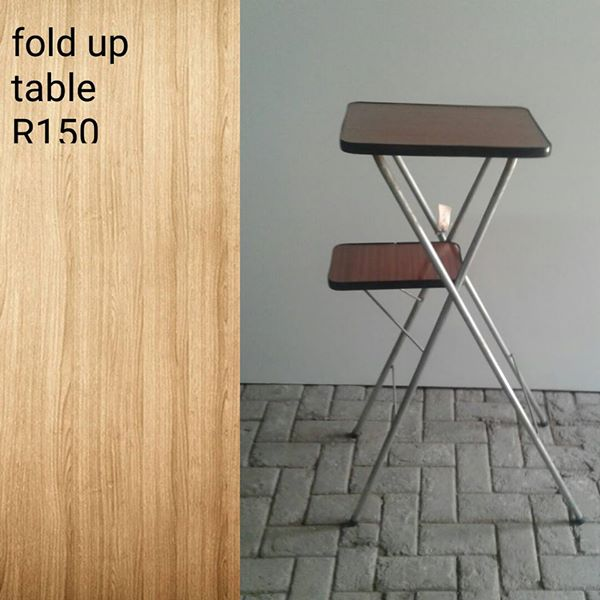 Small fold up table