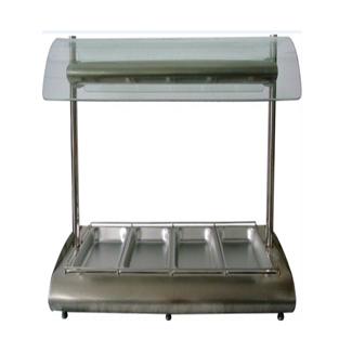 Bain marie-4 tray-1/1-HYWFS-4