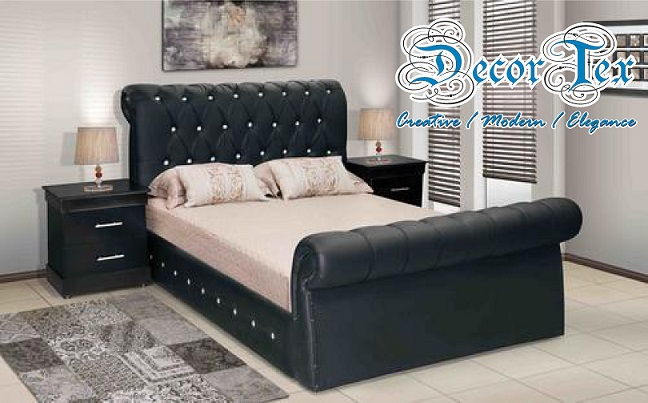 Diamante Curved Bedroom Collection DecorTex