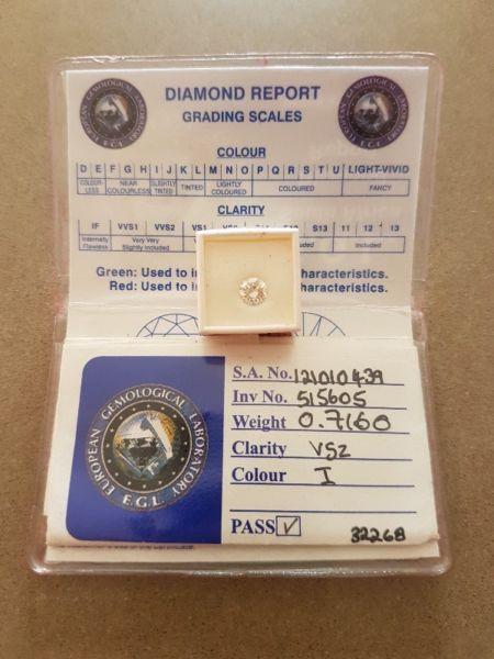 Excellent Round Brilliant Diamond for sale