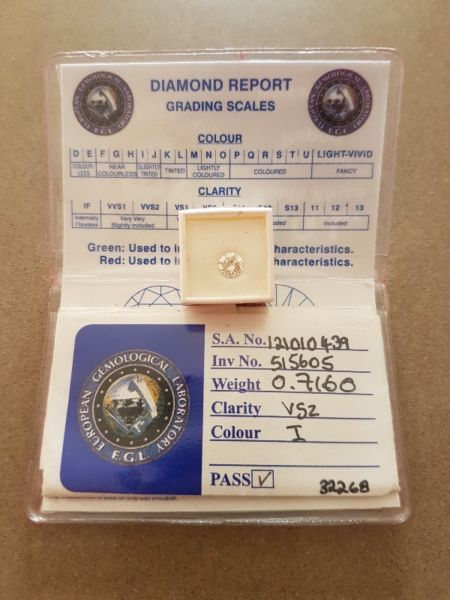 Excellent Round Brilliant Diamond for sale