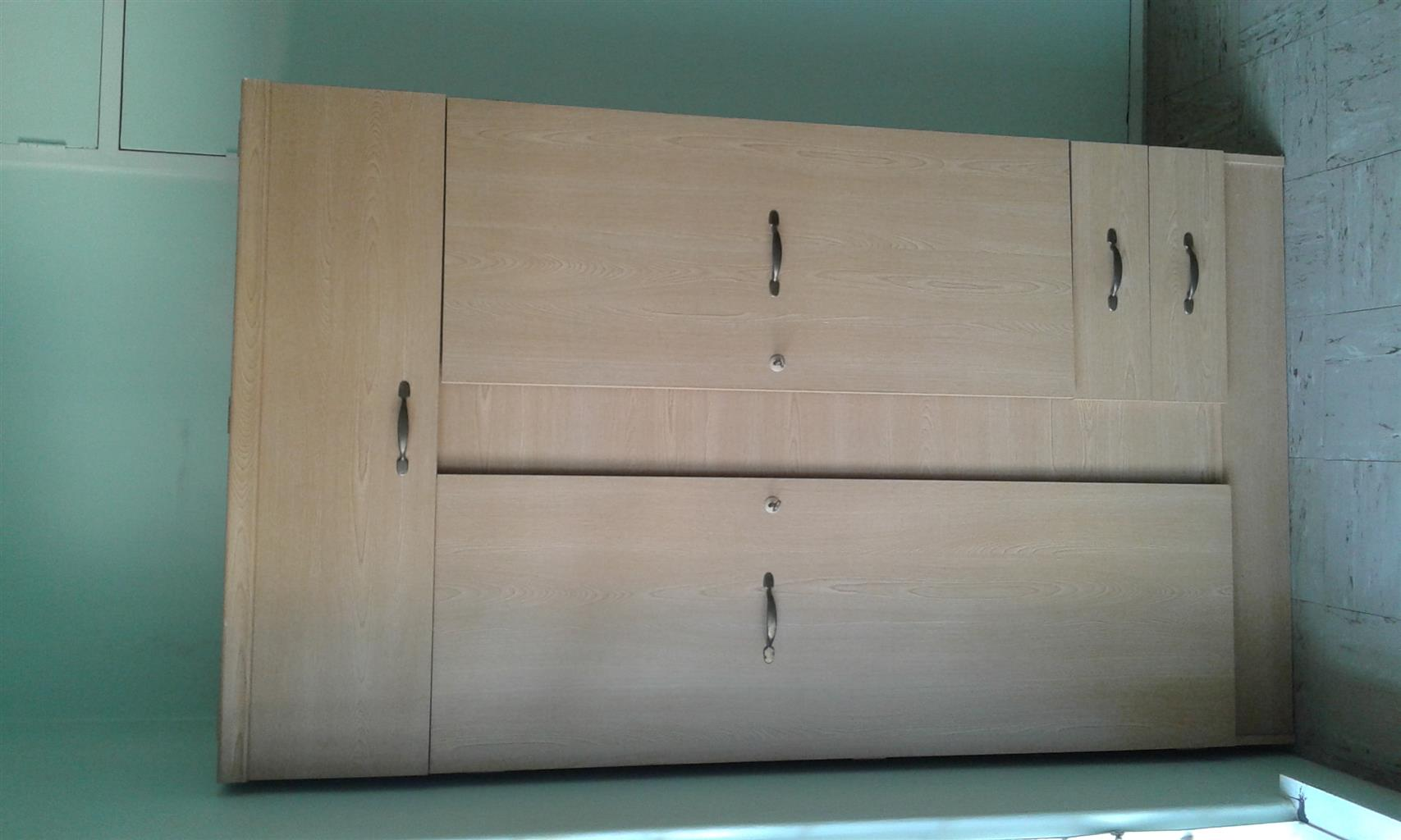 Cupboard and desk for sale
